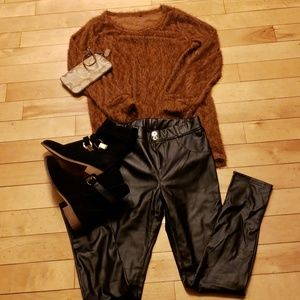 Furry Caramel Sweater